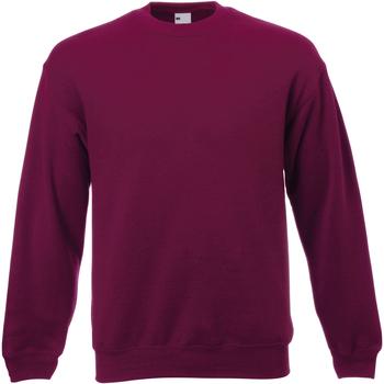 textil Herr Sweatshirts Universal Textiles 62202 Oxblod