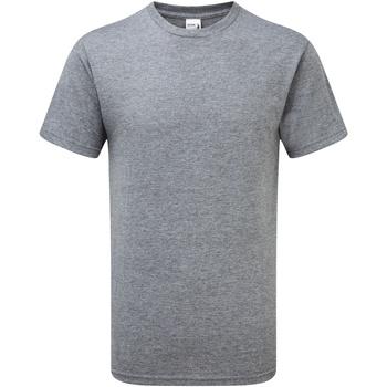 textil Herr T-shirts Gildan H000 Grafit Heather
