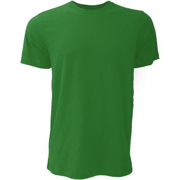 textil Herr T-shirts Bella + Canvas CA3001 Skogsgrön