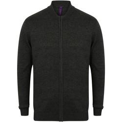 textil Koftor / Cardigans / Västar Henbury HB718 Grå marl