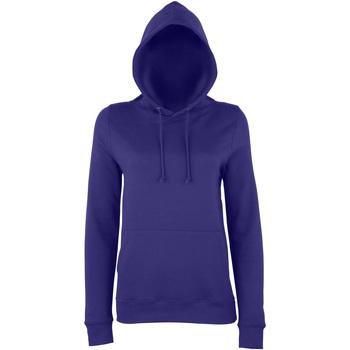 textil Dam Sweatshirts Awdis Girlie Lila