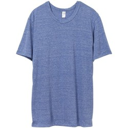 textil Herr T-shirts Alternative Apparel AT001 Eco Pacific Blue