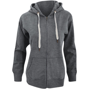 textil Dam Sweatshirts Mantis M84 Gråmelerad melange