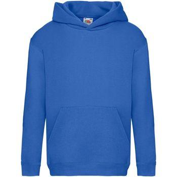 textil Barn Sweatshirts Fruit Of The Loom SS873 Kunglig blå