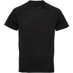 textil Herr T-shirts Tridri TR011 Svart