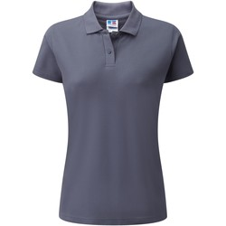 textil Dam Kortärmade pikétröjor Jerzees Colours 539F Convoy Grey