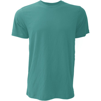 textil Herr T-shirts Bella + Canvas CA3001 Djupt kungsfisk