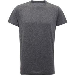 textil Herr T-shirts Tridri TR010 Svart melange