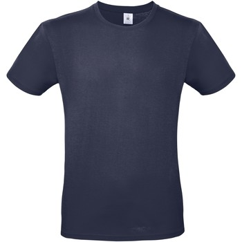 textil Herr T-shirts B And C TU01T Marinblått