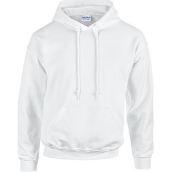 textil Sweatshirts Gildan 18500 Vit