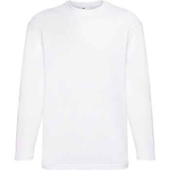 textil Herr Långärmade T-shirts Universal Textiles 61038 Snö