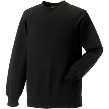 textil Barn Sweatshirts Jerzees Schoolgear 7620B Svart