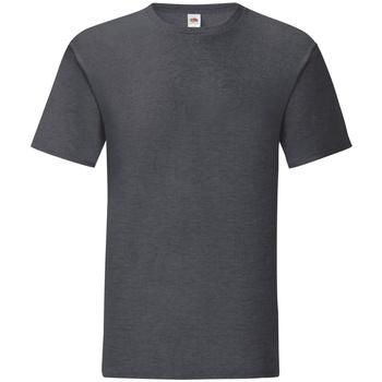 textil Herr T-shirts Fruit Of The Loom 61430 Mörk ljung