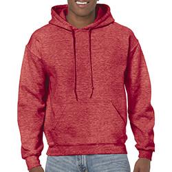 textil Herr Sweatshirts Gildan 18500 Heather Sport Scarlet Red