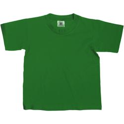 textil Barn T-shirts B And C Exact Flaskegrön