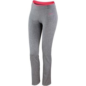 textil Dam Leggings Spiro S275F Sport Grey Marl / Hot Coral