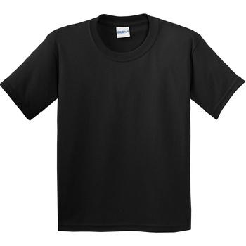 textil Barn T-shirts Gildan 64000B Svart