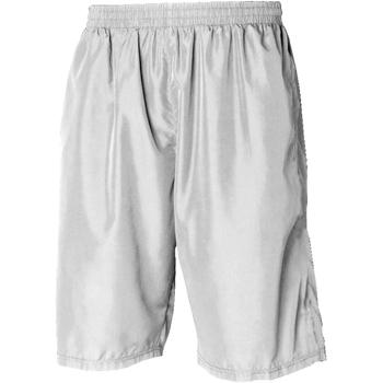 textil Herr Shorts / Bermudas Tombo Teamsport Longline Vit / vit