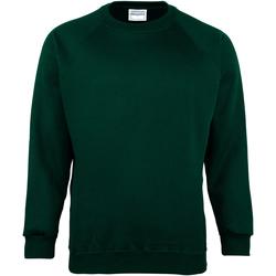 textil Barn Sweatshirts Maddins MD01B Flaskegrön