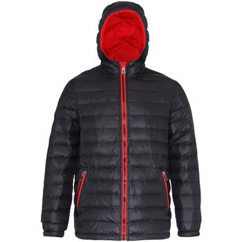 textil Herr Täckjackor 2786 TS016 Svart/röd