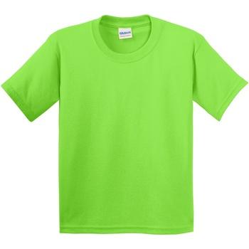 textil Barn T-shirts Gildan 5000B Lime