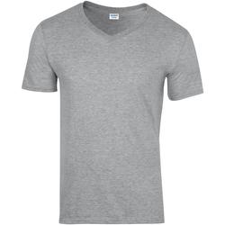 textil Herr T-shirts Gildan 64V00 Sport Grey (RS)