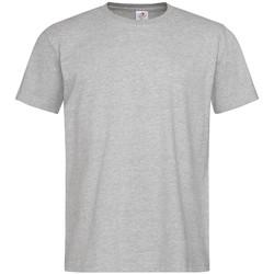 textil Herr T-shirts Stedman  Grått