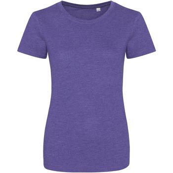 textil Dam T-shirts Awdis JT01F Lila ljung