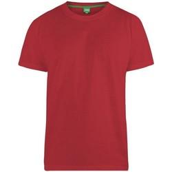 textil Herr T-shirts Duke Flyers-2 Röd