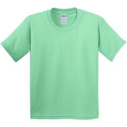 textil Barn T-shirts Gildan 5000B Mintgrön