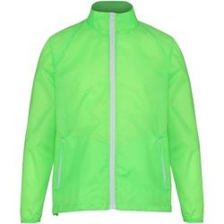 textil Herr Vår/höstjackor 2786  Lime/vit