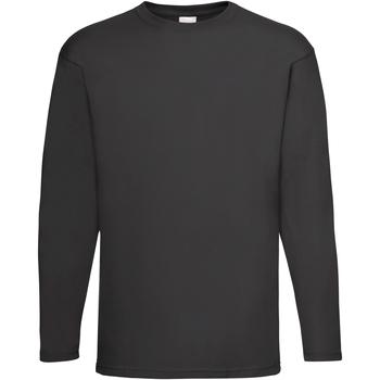 textil Herr Långärmade T-shirts Universal Textiles 61038 Jet Black
