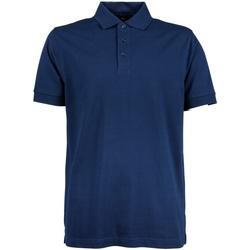 textil Herr Kortärmade pikétröjor Tee Jays TJ1405 Indigo