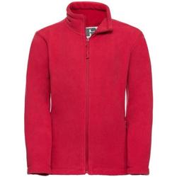 textil Pojkar Fleecetröja Jerzees Schoolgear 8700B Klassiskt röd
