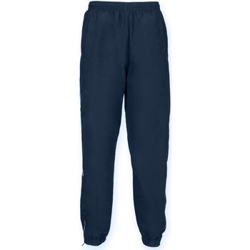 textil Herr Joggingbyxor Tombo Teamsport TL470 Marinblått/vit rör
