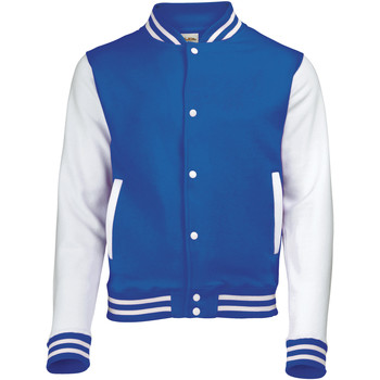 textil Barn Vindjackor Awdis JH43J Kunglig blå/vit
