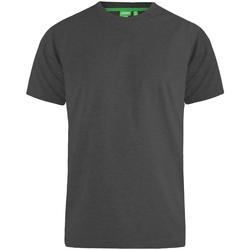 textil Herr T-shirts Duke  Charcoal Melange