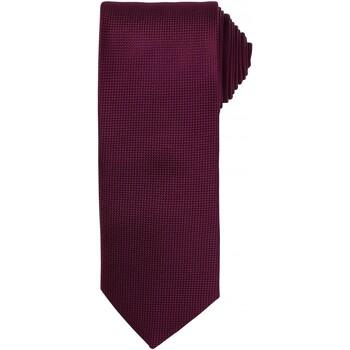 textil Herr Slipsar och accessoarer Premier PR780 Aubergine