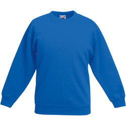 textil Barn Sweatshirts Fruit Of The Loom 62041 Kungliga