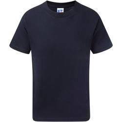 textil Pojkar T-shirts Jerzees Schoolgear J155B Franska flottan