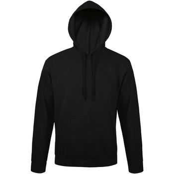 textil Herr Sweatshirts Sols 47101 Svart
