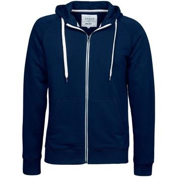textil Herr Sweatshirts Tee Jays TJ5402 Marinblått