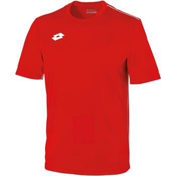 textil Barn T-shirts Lotto LT26B Flam/vit