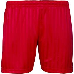 textil Barn Shorts / Bermudas Maddins MD15B Röd