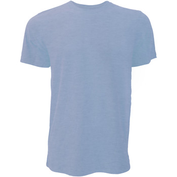 textil Herr T-shirts Bella + Canvas CA3001 Ljungblått