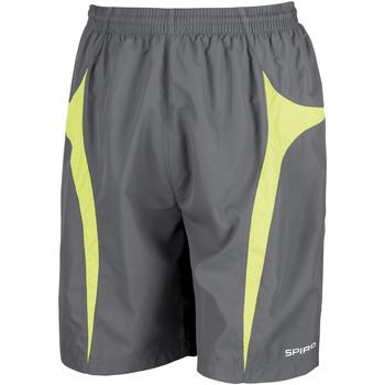 textil Herr Shorts / Bermudas Spiro S184X Grå/Lime