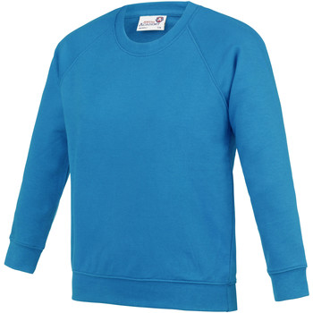 textil Barn Sweatshirts Awdis AC01J Safirblå