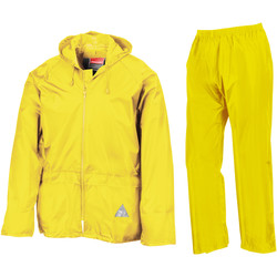 textil Herr Sportoverall Result RE95A Neon gul