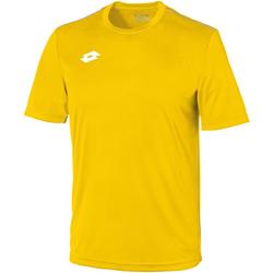 textil Barn T-shirts Lotto LT26B Gul/vit