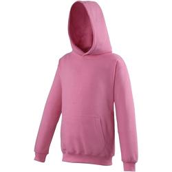 textil Barn Sweatshirts Awdis JH01J Candyfloss rosa